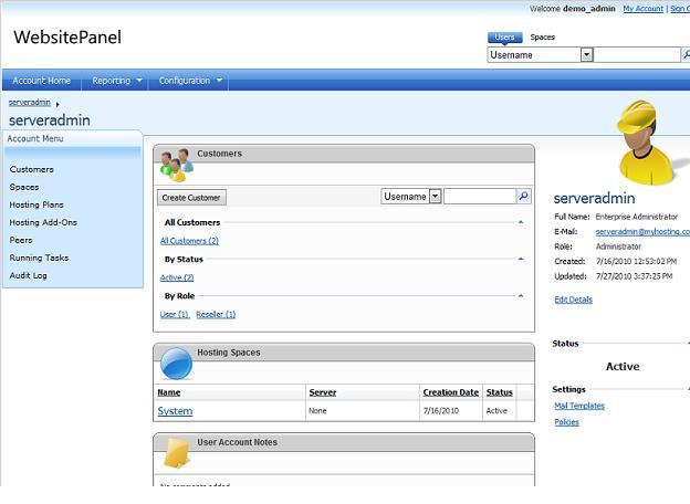Windows-хостинг предложил клиентам панель управления с открытым кодом