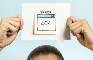 Страница с ошибкой 404 на сайте должна работать и приносить пользу!