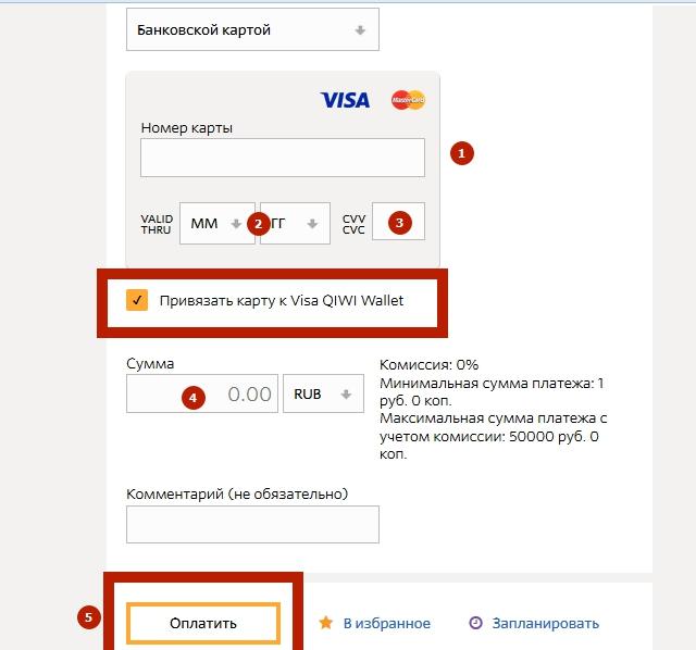 Visa QIWI Wallet 15