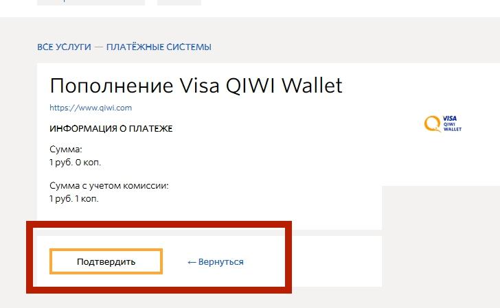 Visa QIWI Wallet 16